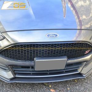 Carbon Fiber Front Splitter Lip   2015-Up Ford Focus ST