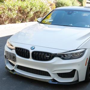 Tow Hook License Plate Mount Bracket Holder   2015-18 BMW M3 F80