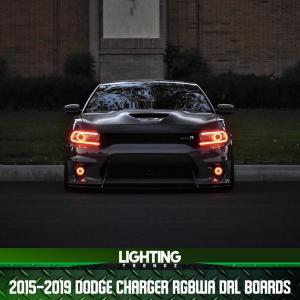 Headlight RGBWA DRL Boards | 2015+ Dodge Charger – Lighting Trendz