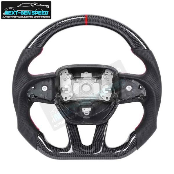 Carbon Fiber Steering Wheel | 2015 – 2021 Dodge Charger/Challenger