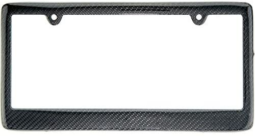 Carbon Fiber License Plate Frame