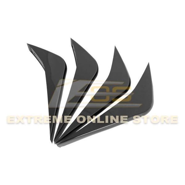 Rear Bumper Diffuser Fins | 2014-19 Corvette C7- Extreme Online Store