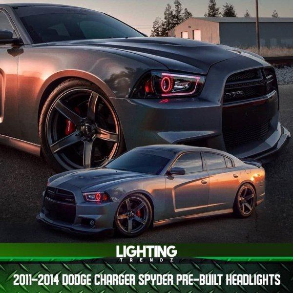 Spyder Pre-Built Headlights | 2011-14 Dodge Charger – Lighting Trendz
