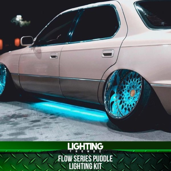 LED RGB Flow Series Puddle Lighting Kit – Lighting Trendz