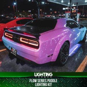 LED RGB Flow Series Puddle Lighting Kit