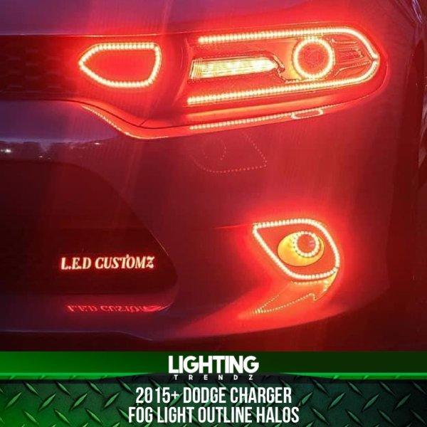 Waterproof Fog Outline Halos | 2015+ Dodge Charger – Lighting Trendz