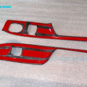 Carbon Fiber Window Switch Covers   2016 – 2021 Chevy Camaro