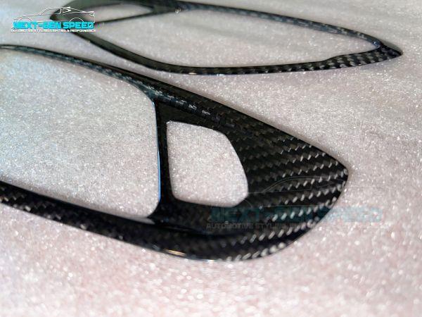 Carbon Fiber Interior Door Handle Cover   2016 – 2021 Camaro