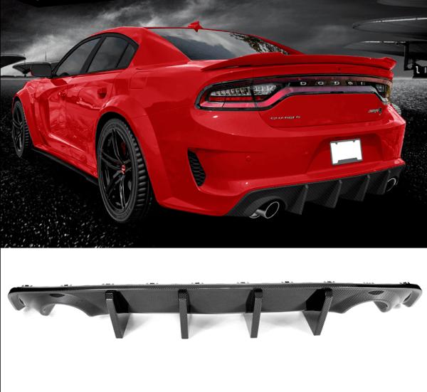 Carbon Fiber Widebody SRT Diffuser | 2020 – 2021 Dodge Charger