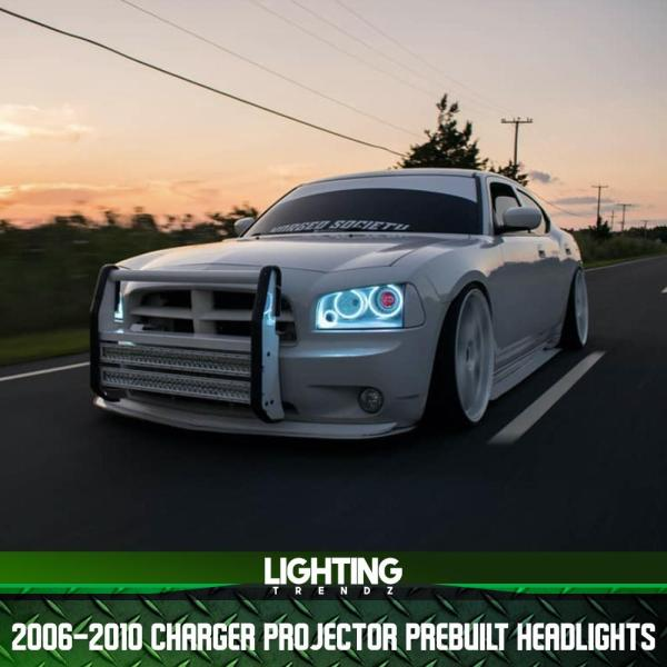 Projector Pre-Built Headlights | 2006-10 Dodge Charger – Lighting Trendz