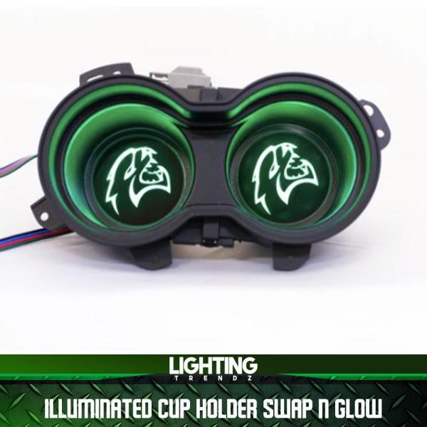 Illuminated Cup Holder LED RGB