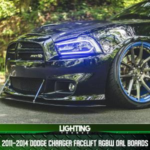 Vland FaceLift RGBWA DRL Boards | 2011-14 Dodge Charger – Lighting Trendz