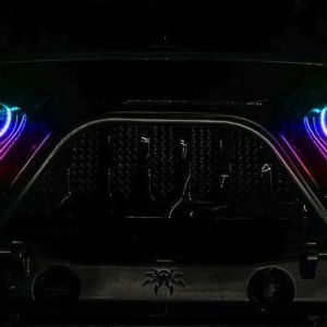 Oracle 7″ RGB Flow Series Halo Headlights Dynamic Color Shift   Jeep Wrangler/Gladiator JL/JT