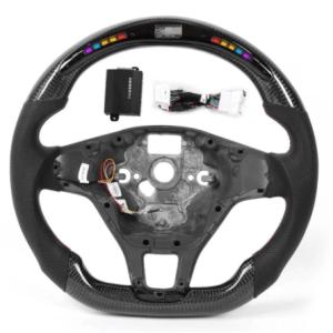 LED Performance Carbon Fiber Steering Wheel | 2013-20 VW Golf Mk7/7.5
