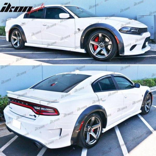 Charger Wide Body Fender Flares  | 2015-2021 Dodge Charger