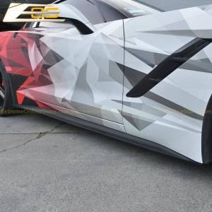 EOS Performance Side Skirts Rocker Panels | 2014-19 Corvette C7