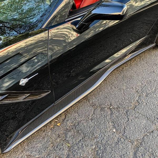 Z06 Conversion Side Skirts Rocker Panels | 2014-19 Corvette C7