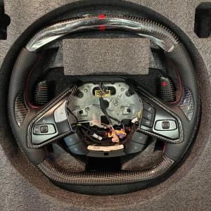 LED RPM Carbon Fiber Steering Wheel – Heated | 2020 – 2021 Chevy Corvette C8