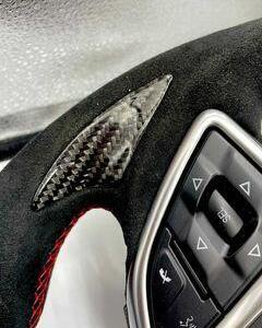 Carbon Fiber Steering Wheel | 2016 – 2021 Chevy Camaro LT (No Paddle Shifters)