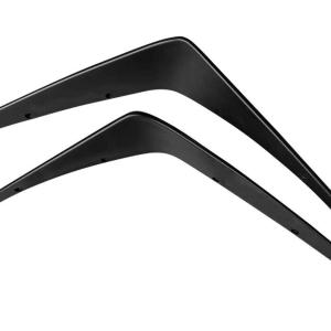 SRT Front Bumper Canards – Matte Black PP | 2015 – 2021 Dodge Charger SRT