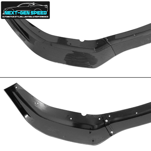 Charger Widebody Carbon Fiber Front Bumper Lip 3PC    2020 – 2022 Dodge Charger