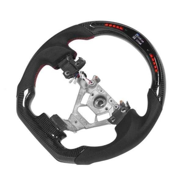 LED RPM Carbon Fiber Steering Wheel | 2003-2008 Nissan 350z
