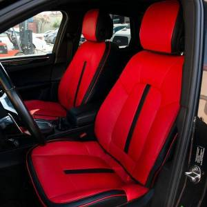 Two-tone Leather Seat Covers | 2014+ Porsche Macan
