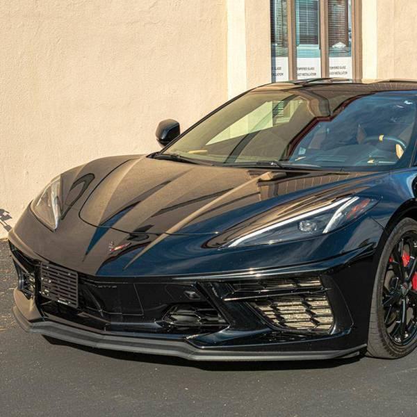 Front License Plate Holder Mount | 2020+ Chevy Corvette C8
