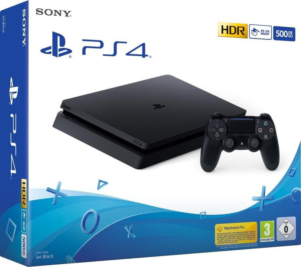 PlayStation 4 Slim 500GB Console - nextglo