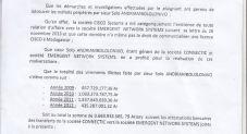 RANARISON Tsilavo dit que la société EMERGENT n'a même pas le droit de commercialiser une licence CISCO à Madagascar