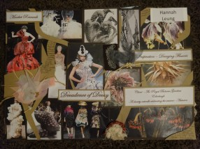 Research into Alexander McQueen dresses and decaying plants and flowers...