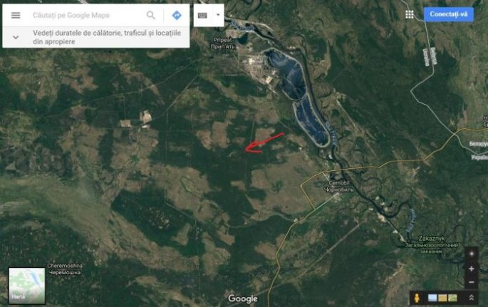 Duga 1 - The military base that is not on the map | NEXT ... Satellite Map Of Chernobyl on aerial view of chernobyl, city of chernobyl, topo map of chernobyl, satellite view of chernobyl, world map of chernobyl, physical map of chernobyl,