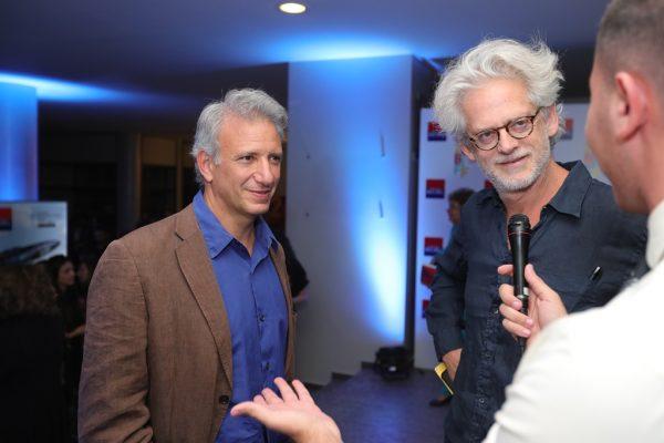 Jonathan Nossiter and Santiago Amigorena
