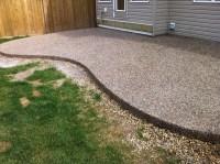 Edmonton Concrete Patio - Next Level Concrete Ltd