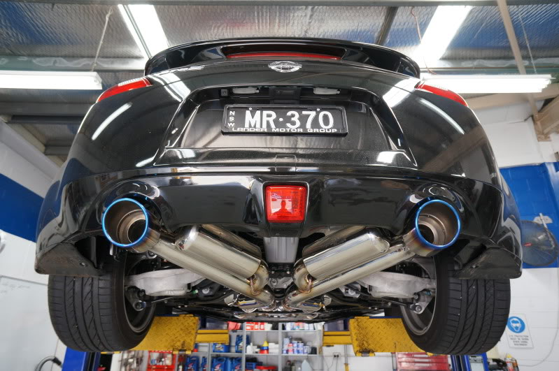 motordyne shockwave e370 exhaust nissan 370z