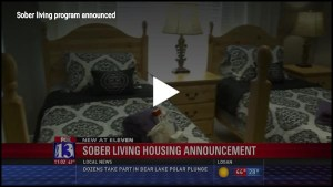 Fox 13 Utah Sober Living Housing Broadcast