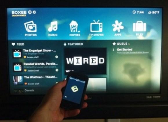 Das Fernsehen der Zukunft lässt sich mit dem Smartphone steuern