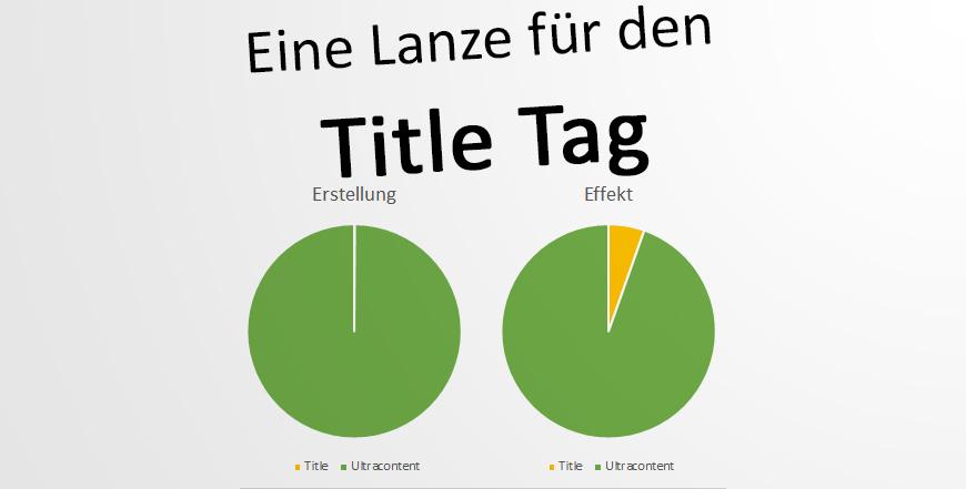 SEO: Title als Rankingfaktor enorm – im Vergleich (?)