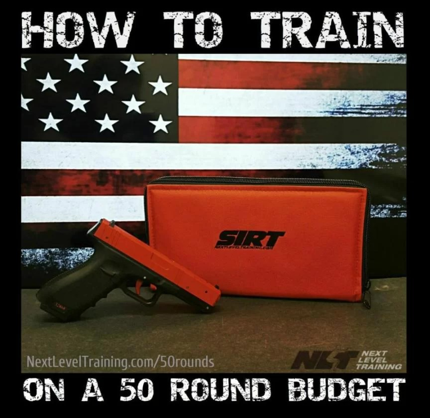 how to train on 50 rnds