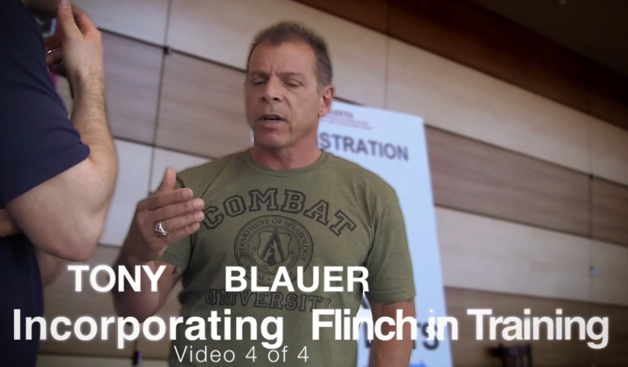 Tony Discussing Incorporating Flinch into Practical Daily Training