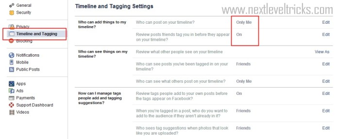 How to prevent Facebook Friends to Tag you in Facebook Photo 2015 ?