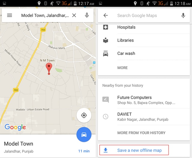 How to Download Google Maps Offline in Android ?