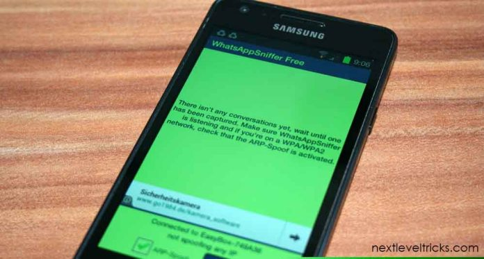 Top 10 Best Android Apps for penetration Whatsapp sniffer
