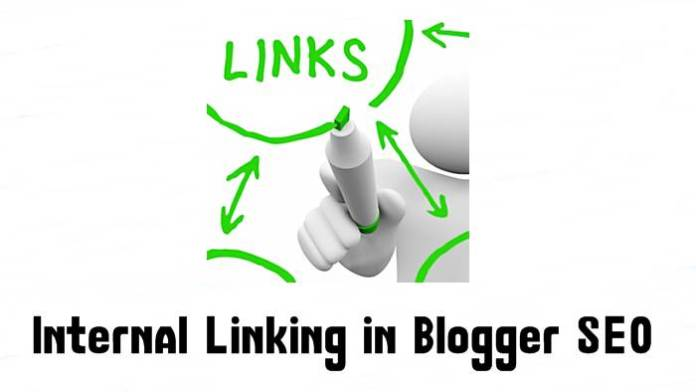 enlace interno en blogger seo