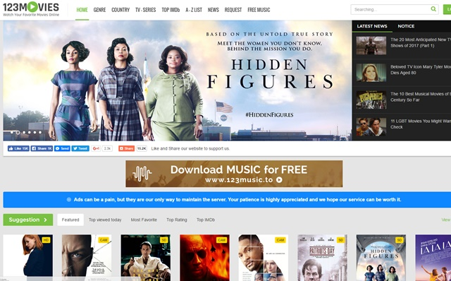 free movie download sites without paying
