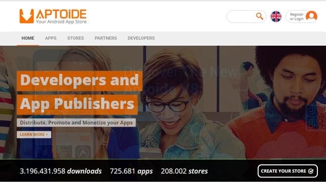 Aptoide - Best Alternatives to Play Store