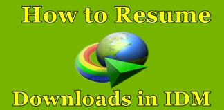 How to Resume Expired/Broken Download in IDM After Shutdown