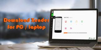 Xender for PC Laptop
