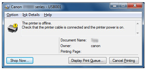 Fix Printer Offline error on windows 7 8 10 PC / Laptop