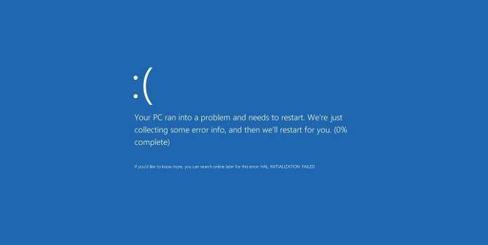 Attempted Execute of NoExecute Memory Blue Screen
